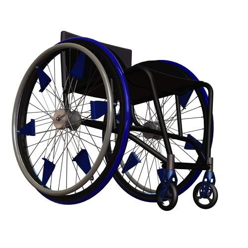 <p>Developed by students at the University of Illinois at Urbana-Champaign, <a href=&quot;http://intelli-wheels.com/&quot; target=&quot;_blank&quot;>IntelliWheels</a> consists of a series of additions to off-the-shelf wheelchairs that make the devices easier to propel by giving them bicycle-like gears. They're developing three models: a three-speed automatic, three-speed manual, and two-speed low-gear.</p>