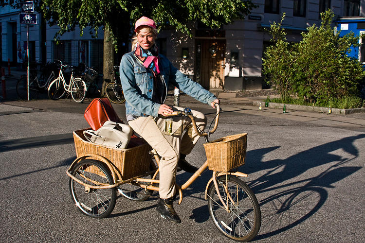 <p>Bikes are not just for fun, but also a legitimate, and wholly efficient, way of expediting the delivery many goods.</p>
