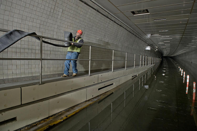 <p>Pumping out the Brooklyn-Battery Tunnel.</p>