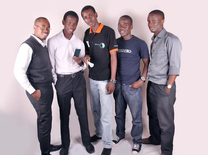 <p>Team Cipher256, whose mobile app uses an algorithm to detect heart rates, age, and position of a fetus.</p>