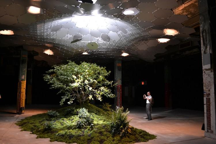 <p>The Kickstarter-funded project to open the Lowline--a park in an abandoned underground New York trolley terminal--<a href=&quot;http://www.fastcoexist.com/1680555/the-lowline-new-yorks-revolutionary-underground-park-says-let-there-be-light&quot; target=&quot;_self&quot;>takes a step closer to reality, as the organizers debut amazing tech to bring enough sunlight underground to grow plants.</a></p>