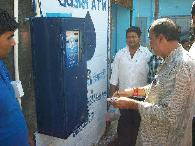 <p>Anand Shah's Sarvajal is bringing clean water to India, <a href=&quot;http://www.fastcoexist.com/1680830/turning-rural-indians-into-water-entrepreneurs&quot; target=&quot;_self&quot;>but with a twist</a>: the franchise model.</p>