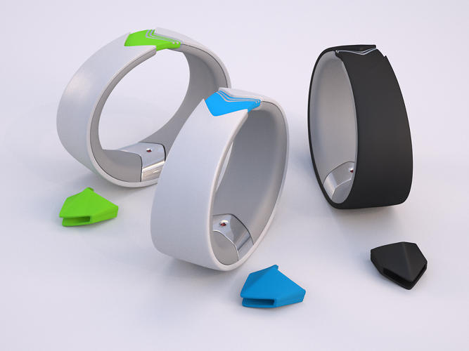 <p>The Amiigo is the latest in self-recording wristbands, but it has a twist.</p>