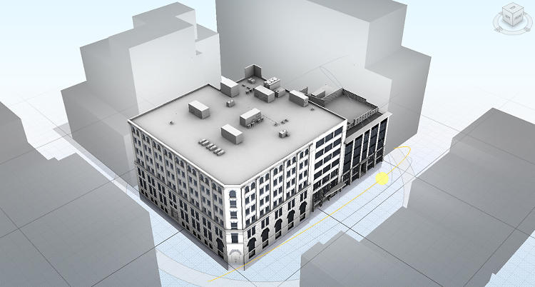 <p>Every part of a building--doors, walls, windows--is tagged, so the software can create its model.</p>
