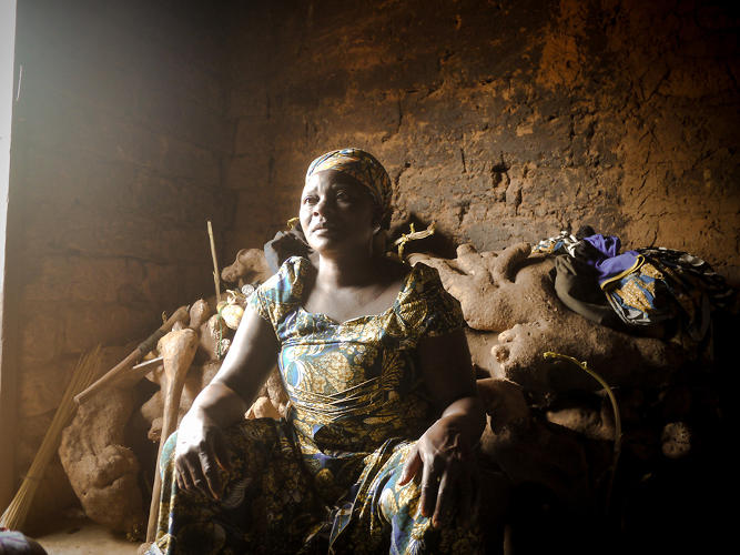<p>A yam farmer at home in Arum Tumara, Nigeria, describes how this year's unusually dry season has affected her family, and the difficulties she has faced in accessing social assistance.</p>