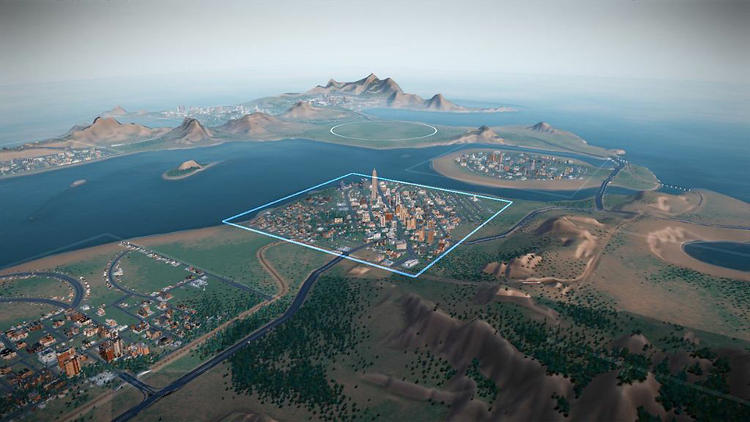 <p>In the new version, cities within a &quot;region&quot; interact with each other, buying and selling things like power and city services, and attracting Sims from other cities with jobs and shopping.</p>