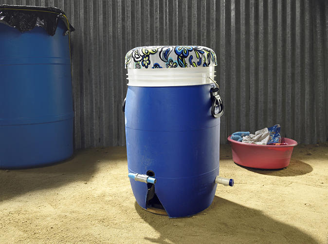 <p>It requires many hours a day just to find and transport water, and wet garments often get moldy before drying.</p>
