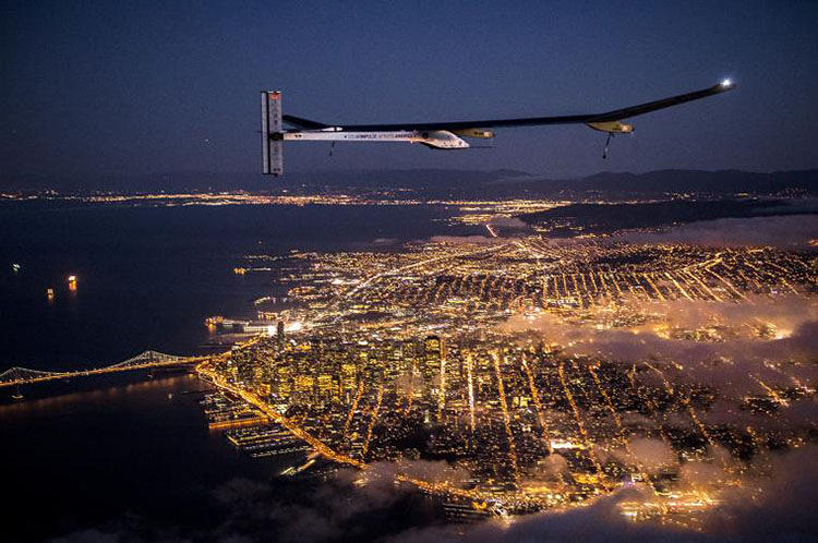 <p>This flight marks the beginning of Solar Impulse's cross-country journey, set to end in early July at JFK Airport in New York City.</p>