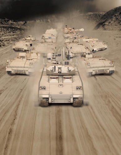 <p>One of the candidates to replace the military's iconic Bradley Fighting Vehicle is this the proposal from BAE Systems that uses a hybrid propulsion system.</p>