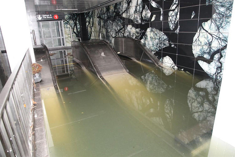 <p>Superstorm Sandy created havoc and destruction throughout New York and New Jersey. Perhaps most emblematic was <a href=&quot;http://www.fastcoexist.com/1680828/a-look-inside-new-yorks-underwater-subways&quot; target=&quot;_self&quot;>the closure of most of New York's iconic subway system, rendered inoperable by floodwater. </a></p>