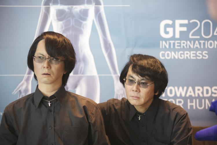 <p>Dr. Hiroshi Ishiguro has created an android version of himself.</p>