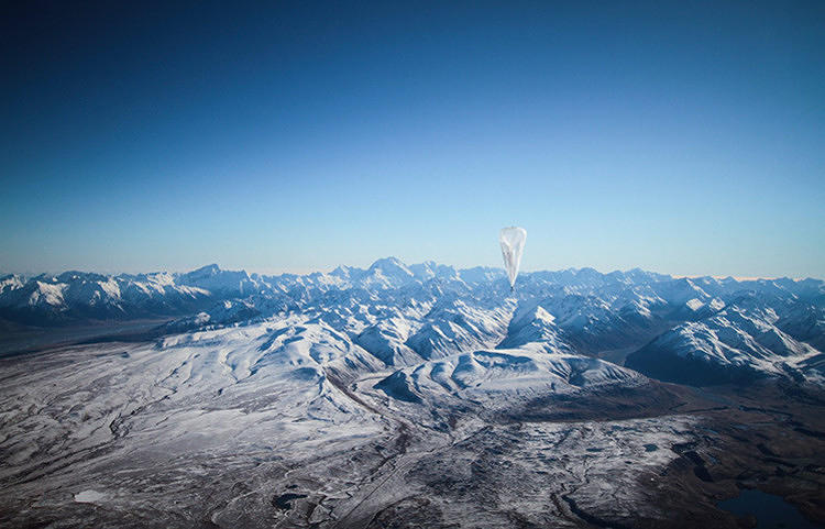 "<p>The fruit of that idea is ""Project Loon,"" which launched its first public trial last month in New Zealand, using 30 balloons to try to bring wireless signals to 50 testers</p>"