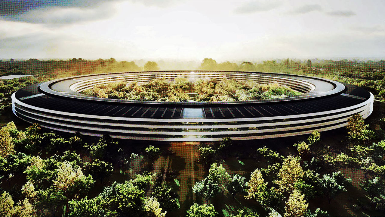norman foster on designing apples 5 billion spaceship campus codesign business design apple cupertino office