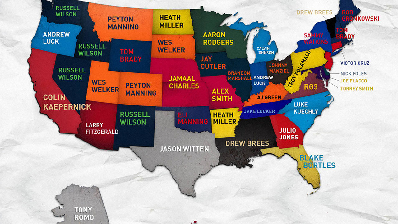 Map Of Nfl Teams Poster Pictures To Pin On Pinterest PinsDaddy - Us map nfl teams