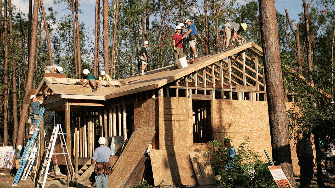 Why habitat for humanity isn 39 t building as many houses as for Building a house in colorado