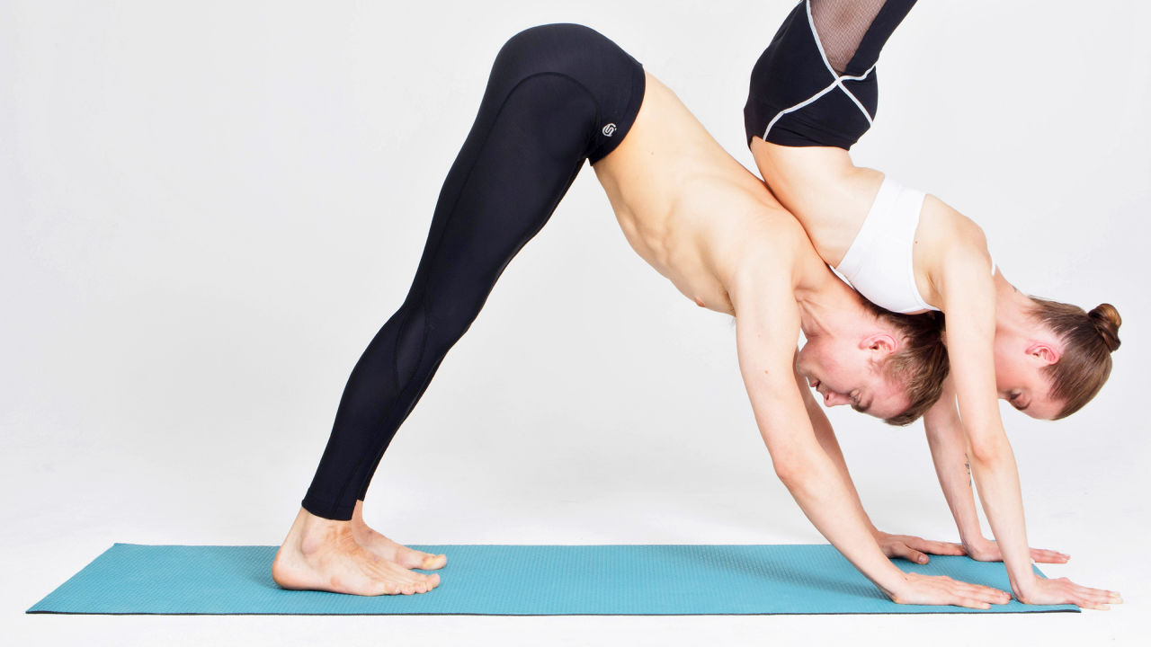 These Vibrating Yoga Pants Will Correct Your Downward Dog | Fast ...