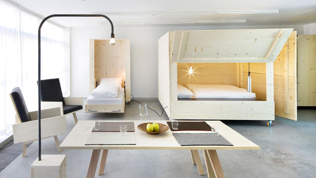 Tiny Home Designs: These Murphy Beds Are Like Bedrooms On Wheels