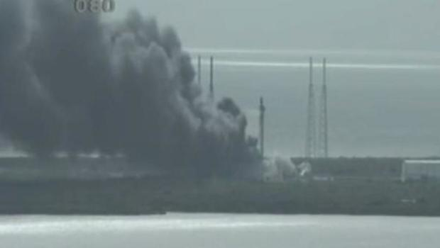 Major Explosion At SpaceX Florida Launch Site