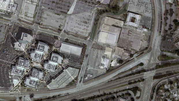 Satellite Images Of Data Centers And Military Bases Become Lenticular Works Of Art