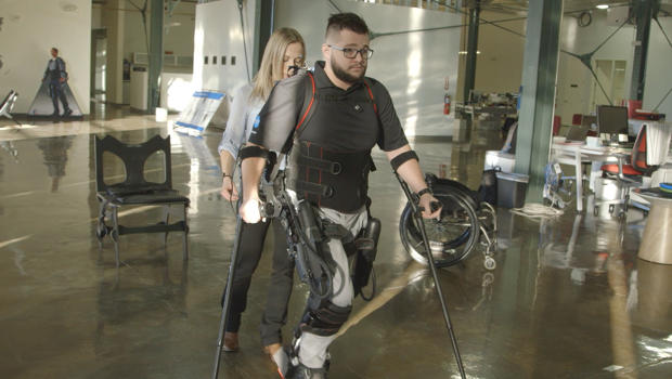 This Company is Using Technology from Sci-Fi Movies to Help People Walk Again