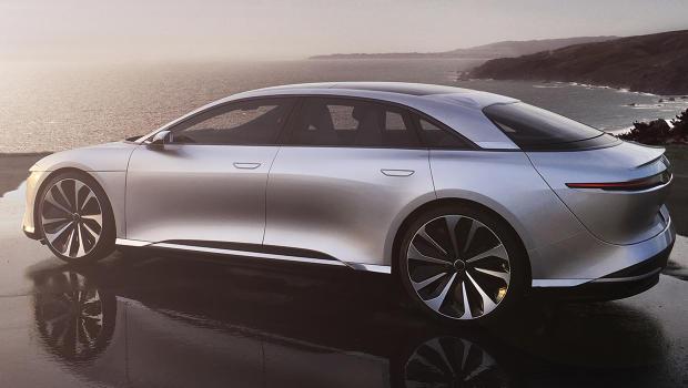 Meet Lucid, an Aspiring Tesla Competitor Selling a $100K