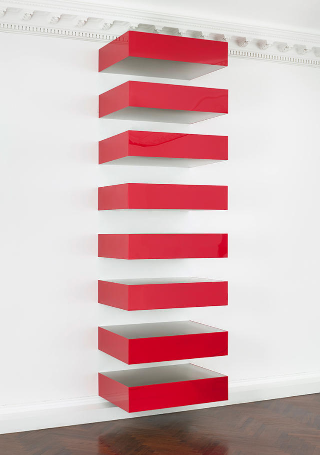 First ever exhibition devoted to donald judd 39 s minimalist for Minimalist movement