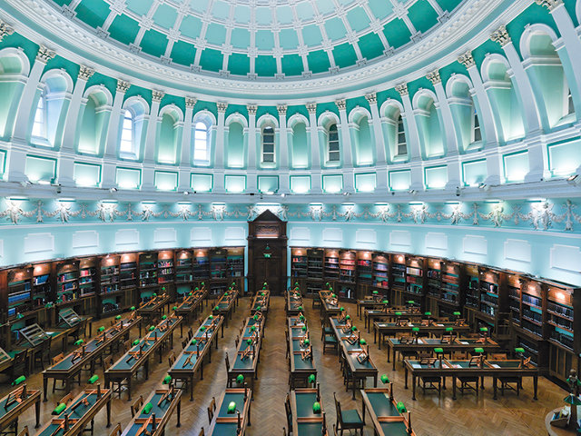 National Library Dublin Reading Room