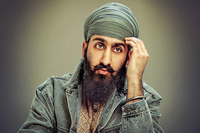 Wondrous A Photographic Celebration Of The Sikh Beard And Turban Co Short Hairstyles Gunalazisus