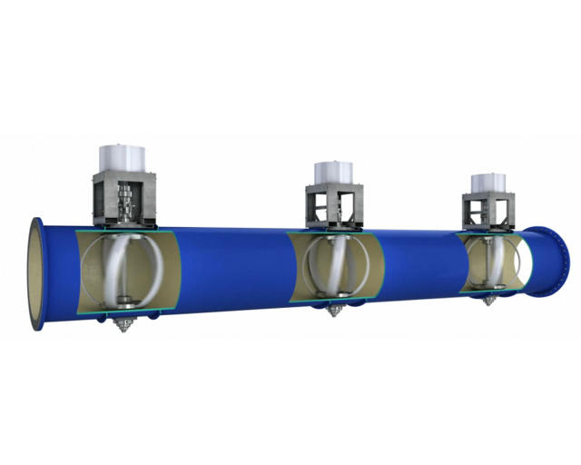 Portland 39 s new pipes harvest power from drinking water for New water pipes