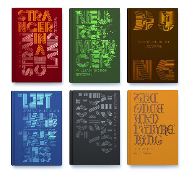 Penguin Classic Book Cover Font : Penguin reinvents classic sci fi book covers with clever