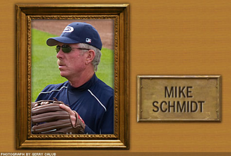 <p> After the wear-and-tear of a 17-year career as a Phillies third baseman, Mike Schmidt had rotator-cuff surgery in early 1989. He retired shortly thereafter, but presumably the operation lent him a better quality of post-career life.  </p>