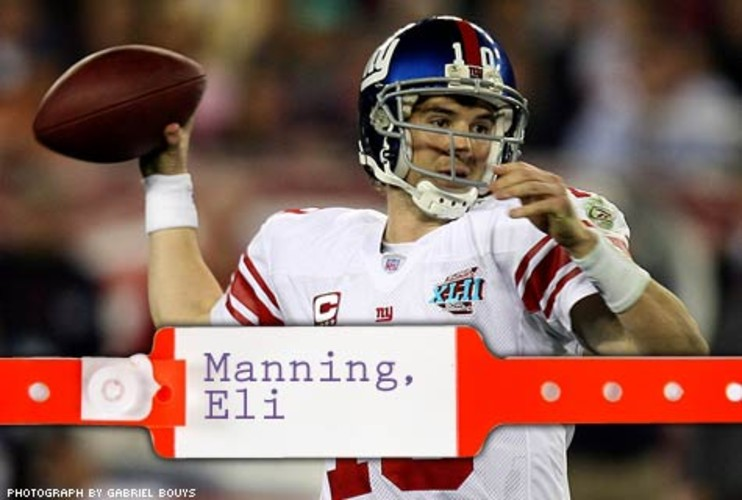 <p> In September 2007, the New York Giants called to get Andrews' opinion on quarterback Eli Manning's sore shoulder: Should he rest several games or play through the pain? Andrews said the shoulder should be fine. Eli went on to toss the winning touchdown pass in this year's Super Bowl and had no trouble hoisting the MVP trophy. </p>