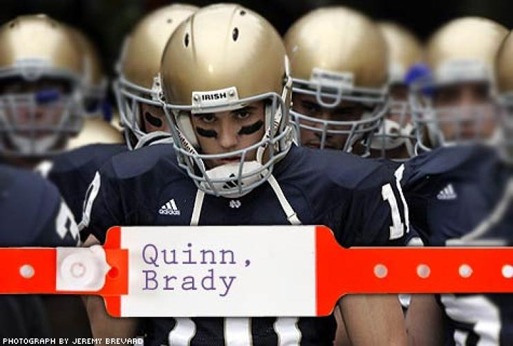 <p> The Notre Dame star injured his knee during his senior year, negatively affecting his play. Quinn skipped the Senior Bowl to see Andrews, who prescribed rest. Although the QB saw his stock drop on draft day from a likely top-3 pick to #22, he still signed a five-year, $20.2 million deal, with $7.75 million guaranteed. </p>