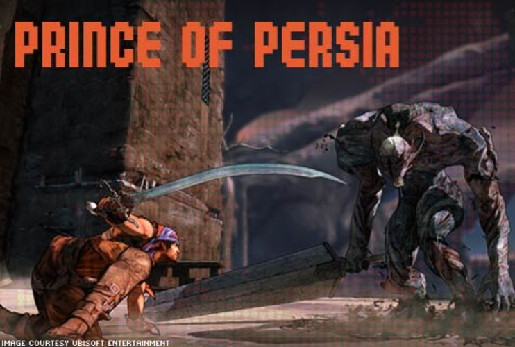 <p>Prince of Persia offers a new hero, new art style, but the same breathtaking acrobatic action fans have come to expect.. The new Prince sports heavy metal in the form of a spiked gauntlet and a vicious doubled-edged sword. Instead of battling legions of monsters as in previous Prince titles, the majority of combat is a one-on-one affair. The most interesting addition to the series is Elika, a supporting AI character that assists the Prince throughout the game using her magical abilities. </p> <p>$59.99 PlayStation 3 and Xbox 360<br> More Info: <a href=&quot;http://prince-of-persia.us.ubi.com/intro/&quot; target=&quot;_new&quot;>Prince of Persia</a></br></p>