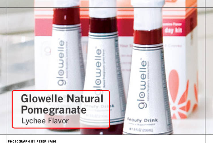 <p>In 2006, Cooper, was a brand manager at Nestlé when she pitched her bosses the idea of a beauty drink. Two weeks later, she was running Nestlé's first American foray into nutricosmetics. Glowelle debuted this fall in Bergdorf Goodman and 45 Neiman Marcus stores. The company currently produces four products, including a Pomegranate Lychee drink or a Rasberry Jasmine powder stick to mix into other drinks.</p>
