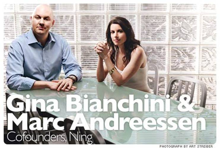 <p>Ning, like many Web 2.0 companies -- Google, PayPal, YouTube, eBay, Facebook, MySpace, Digg, LinkedIn, Twitter, and Flickr -- is powered by viral loops. But it was designed specifically to exploit them. The brainchild of former Goldman Sachs investment banker Gina Bianchini and celebrity geek Marc Andreessen, Ning has  grown automagically from the moment it launched -- providing a free platform for do-it-yourself social networks -- in February 2007. By August there were 80,000 Ning nets and as 2007 ended, there were 150,000. At the end of 2008 there are more than 500,000. The company estimates that by New Year's Eve 2010 it will host some 4 million social networks, with tens of millions of members, serving up billions of page views daily. &quot;It's the power of compounding, predictable growth rates,&quot; Bianchini says.  <br /><a href=&quot;http://www.fastcompany.com/magazine/125/nings-infinite-ambition.html&quot; target=&quot;_new&quot;><em>Learn more</em></a> </p>