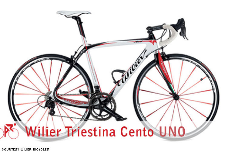 <p> The Cento Uno is Wilier's (pronounced &quot;Vil-yer&quot;) flagship bike, and it shows. Even though the Italian bike-maker has been in the business since 1906, its recognition in the United States exploded after Wilier team rider Alessandro Ballan won the UCI Road Race World Championships in September 2008 riding this very bike.  </p> <p> <em>For:</em> Road racing<br /> <em>Price:</em> Frame only: $4,300<br /> <em>From:</em> <a href=&quot;http://www.wilier-usa.com/%22&quot; target=&quot;_new&quot;>Wilier Bicycles</a> </p>