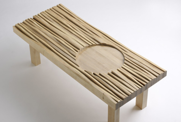 <p> The wood used for Lin's bench came from FSC-certified land managed by The Nature Conservancy.  </p>