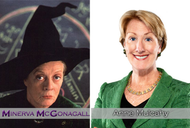 <p>Professor McGonagall, the no-nonsense head of Gryffindor at Hogwarts, never let anyone get away with anything and kept the school of Hogwarts going. When <strong><a href=&quot;http://www.fastcompany.com/magazine/137/green-business-carbon-copy.html&quot;>Anne Mulcahy</a></strong> became CEO at the then-ailing Xerox, she instituted a massive turnaround, focusing the company's strategy and saving the company from bankruptcy. She recently stepped down as CEO, but remains Chairman of the Board. </p>