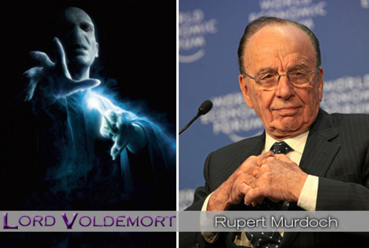<p>Ancient. Withered. Speaks in a raspy voice. Few will be surprised at the Dark Lord of business. <strong><a href=&quot;http://www.fastcompany.com/blog/kit-eaton/technomix/rupert-murdoch-cell-networks-interest-confirms-rise-e-book&quot;>Rupert Murdoch</a></strong> runs his News Corp. empire from on high, brandishing his media portfolio of newspapers, Web sites, and television networks as weapons to further his personal and political agendas. His loyal minions indicate that he must have some leadership qualities lurking underneath his spooky cape. Voldemort had his group of rabid followers, too. </p>