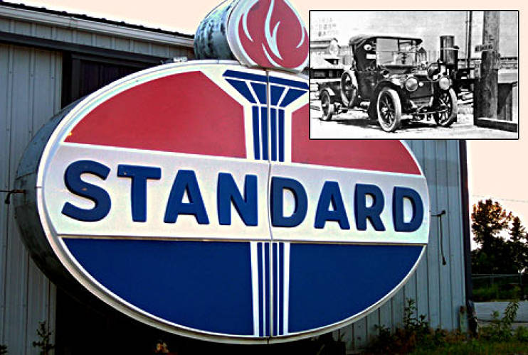 "<p>In 1907, John McLean, of Standard Oil, opened the world's first gasoline service station at the corner of Holgate Street and Western Avenue in <strong>Seattle</strong>. He built the first pump using a garden hose.</p><p><span style=&quot;""font-size:small""&quot;><em>[Photo Courtesy of <a href=&quot;""http://www.flickr.com/photos/pathawks/""&quot;>Pat Hawkes</a>/<a rel=&quot;license&quot; href=&quot;http://creativecommons.org/licenses/by/2.0/&quot;>CC BY 2.0</a></em>]</span></p>"