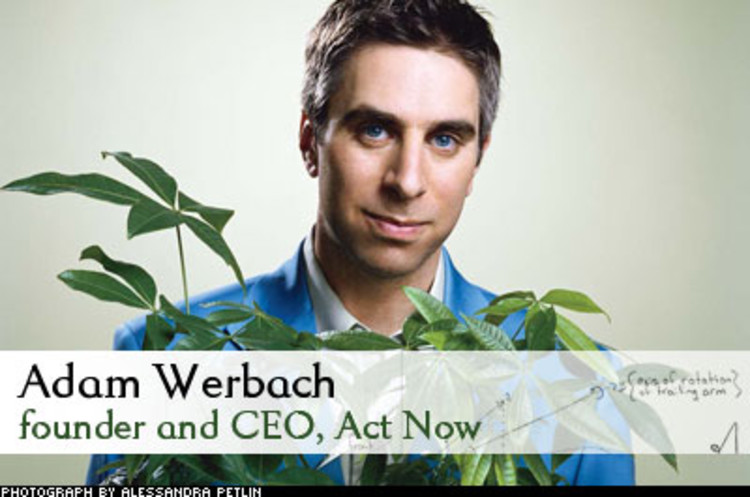 <p> Once the youngest president of the Sierra Club, Adam Werbach used to call Wal-Mart toxic. Now the company is his biggest client. He wants to do nothing less than make Wal-Mart as well known for environmental sustainability as it is for low prices, &quot;Our goal,&quot; he says, &quot;is to have Wall Street look at Wal-Mart's green performance, and say, 'Wow, do more of that.'&quot;<br /> <a href=&quot;/magazine/118/working-with-the-enemy.html&quot; target=&quot;_blank&quot;>Learn More</a> </p>