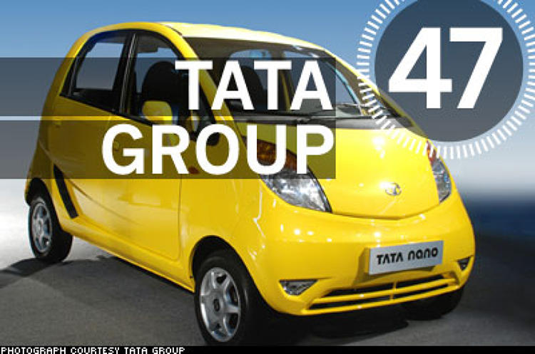 <p> Within the first 10 days of 2008, Ratan Tata, the magnate behind India's $72.8 billion Tata Group, made a reported $2 billion bid for Ford's Jaguar and Land Rover brands and unveiled its long anticipated $2,500 &quot;People's Car&quot; called &quot;Nano.&quot; India's largest conglomerate made a clear statement that Indian business is not just an outsourcing ghetto. It wasn't the first time that Tata the man, the fifth generation of his family to run the company, had demonstrated his global savvy. In the 1990s, when he took the helm of the company, its trucking unit was enduring the biggest losses in Indian history. Since then, through a series of international acquisitions (Tetley Teas, steelmaker Corus), the 70-year-old mogul has transformed the company into a mosaic of 100 diverse businesses, with more than half of the company's revenue coming from non-Indian operations.  </p>