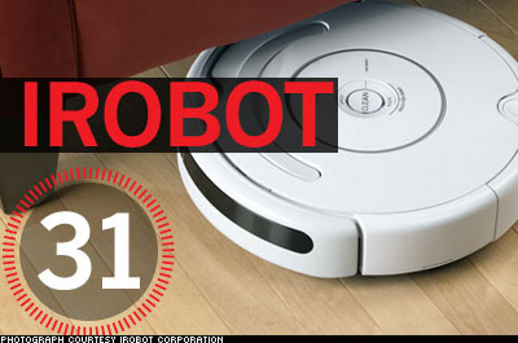 <p> IRobot founders met at MIT: Chairman Helen Greiner and CEO Colin Angle were undergrads together; CTO Rod Brooks was Angle's thesis adviser. Ultimately, the trio decided they wanted to build robots that real people could use. &quot;The challenge was that robots cost more to build than they delivered in value,&quot; Angle says. The team went into business in 1990. Government and university projects sustained them initially, but they were strapped for cash. While Greiner deepened the company's military relationships, Angle spearheaded the consumer division. IRobot spent part of the 1990s making industrial cleaning robots for SC Johnson and toys for Hasbro; when both contracts expired, Grenier and Angle combined what they'd learned into the Roomba. The company raised $38 million in investor cash in 1998, started developing the digital domestic in 1999, and debuted its first version in 2002. The Roomba now accounts for around two percent of the vacuum market.  </p>