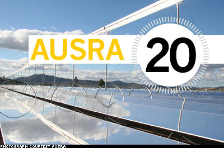 <p> The efficiency of Ausra's solar technology is unparalleled: mass-produced mirror clusters focus the sun's rays onto water-filled tubes. When the water boils, it produces enough steam to turn an array of turbines. Fishman estimates the electricity generated will cost 10 to 12 cents per kilowatt-hour--on par with polluting sources like coal, and 50 percent less than photovoltaic power. VC extraordinaire Vinod Khosla invested $25 million in Ausra last year, a colossal vote of confidence that has proven contagious. In November 2007, Pacific Gas &amp; Electric signed a 20-year purchasing agreement with the company that will generate more than $1 billion in revenue (Ausra's first California plant is slated to be up by 2010), and Ausra officials are in talks with utilities in Florida and Nevada. &quot;I don't think it's out of the question for us to get 30 percent of the national grid within 20 years,&quot; Fishman says.  </p>