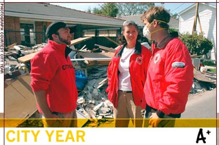 <p>Prior to hurricanes Katrina and Rita, City Year was in early stages of a three-year start-up process for the launch of a site in Louisiana. After the hurricanes, the process was expedited to have a team in place within 60 days. In its first program year, corps members served in five schools in the East Baton Rouge Paris school district, where approximately one-third of the students were displaced.</p>