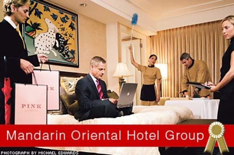<p>The Mandarin's service ethos is driven by 11 LQEs (legendary quality experiences), which create a framework for delivering elegant yet natural service, while simultaneously empowering staffers to think for themselves.</p>