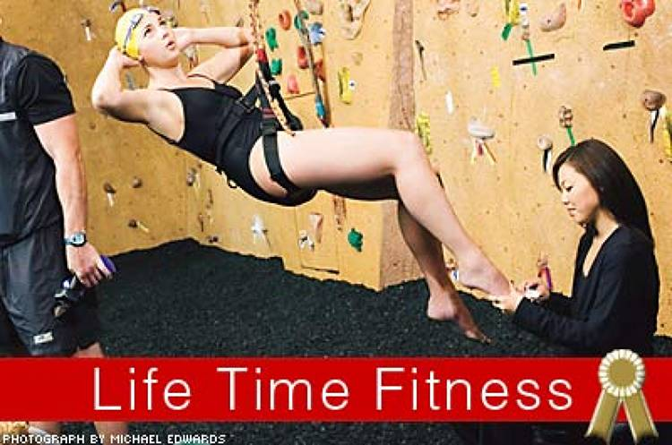 <p>Life Time wants to be your neighborhood's de facto community center, and with everything from salsa-dancing lessons to an Aveda salon and spa to athletic leagues, it succeeds.</p>