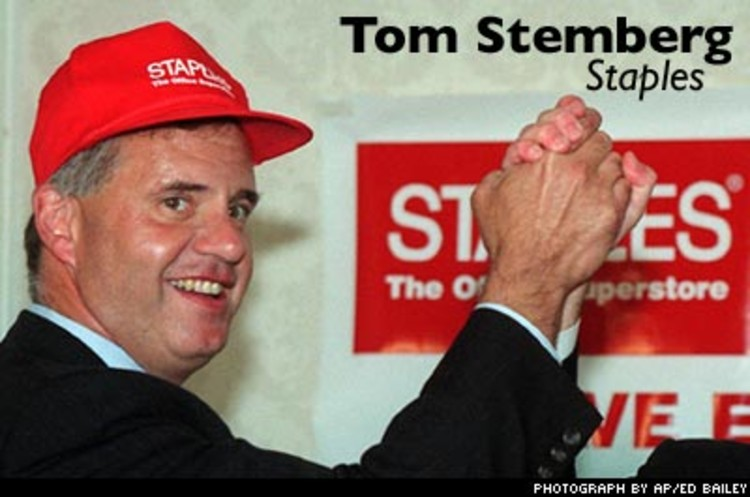 <p>When <a href=&quot;http://www.inc.com/magazine/20040401/25stemberg.html&quot;>Stemberg</a> opened the first Staples store in 1986, he launched an entirely new retailing category, the office-supply warehouse, and forever changed the way we shop for office supplies.</p>