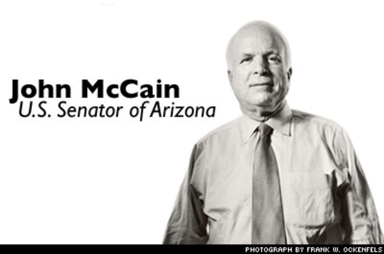 <p>The Senator from Arizona has promoted courage his entire life -- from his years in Vietnam to his focus on ethics in politics and banning torture. His book <a href=&quot;http://www.fastcompany.com/magazine/86/mccain.html&quot;><em>Why Courage Matters</em></a> espouses the need for this rare virtue.</p>